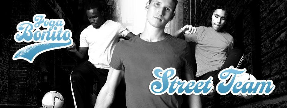 Joga Bonito Street Performance Team