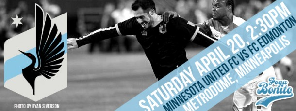Minnesota United FC vs FC Edmonton Saturday April 20 2:30pm