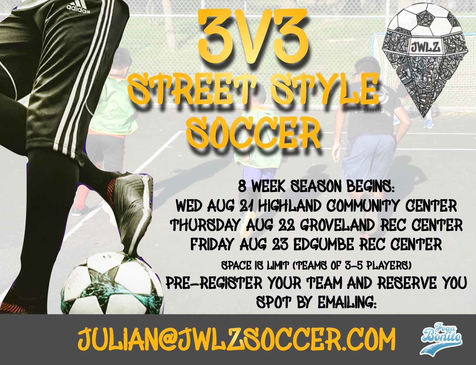 3v3 Street Style League