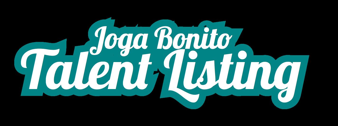 Joga Bonito Talent Listing